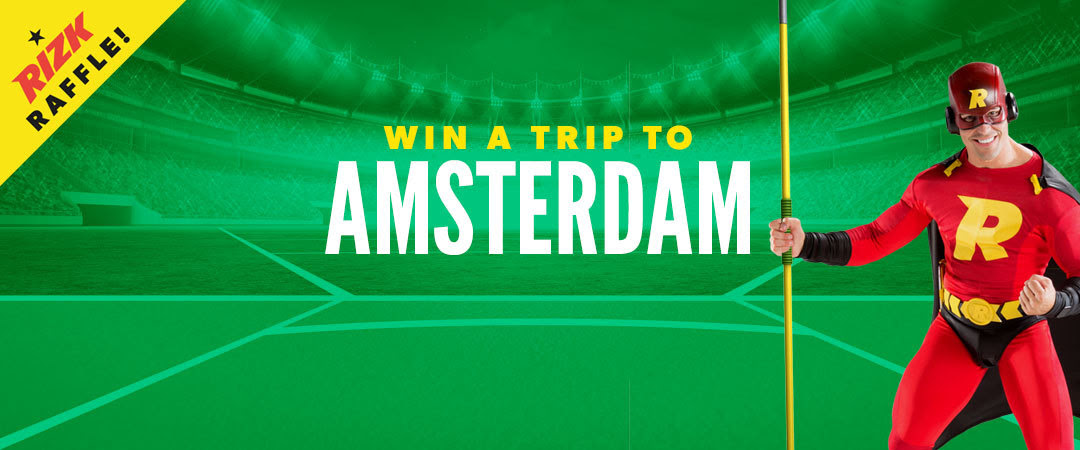 This week's winner goes to Amsterdam with RIZK casino!